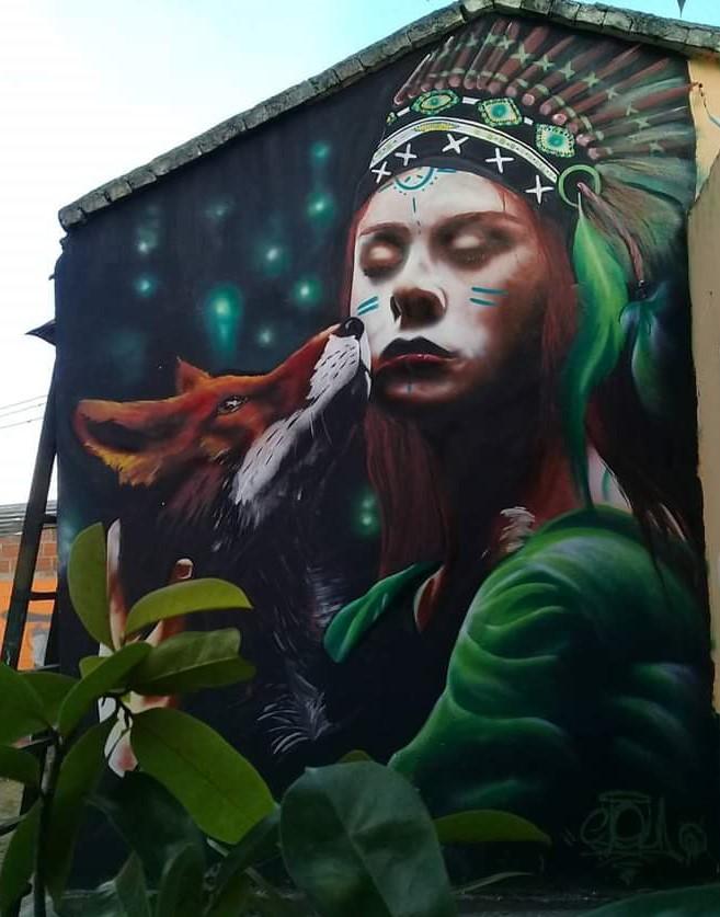 Graffiti, Belleza Indigena.