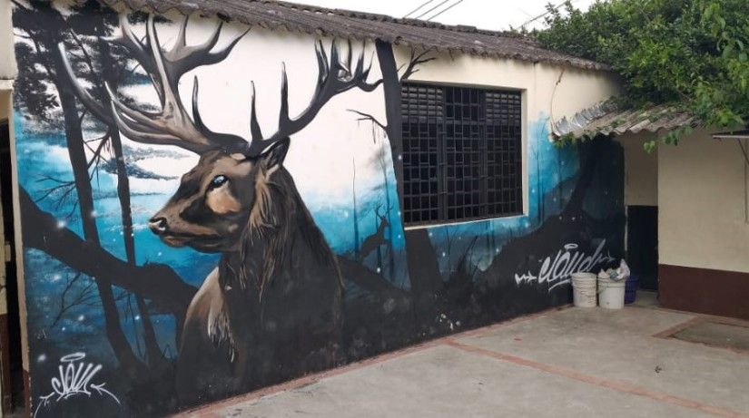 Graffiti, Ciervo de la noche.