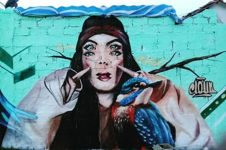 Graffiti, Desenfoque visual.