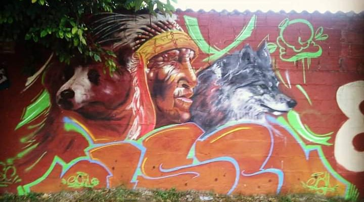 Graffiti El Indio