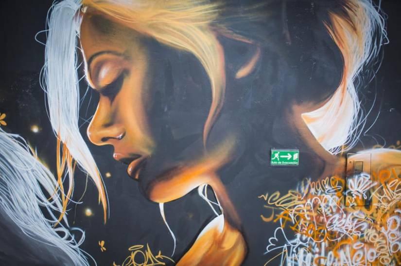 Graffiti, Alma de Mujer.