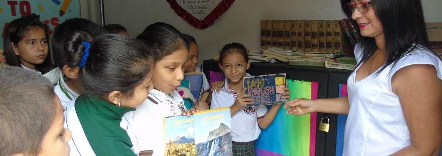 Donación de Libros Educativos en Ibagué.