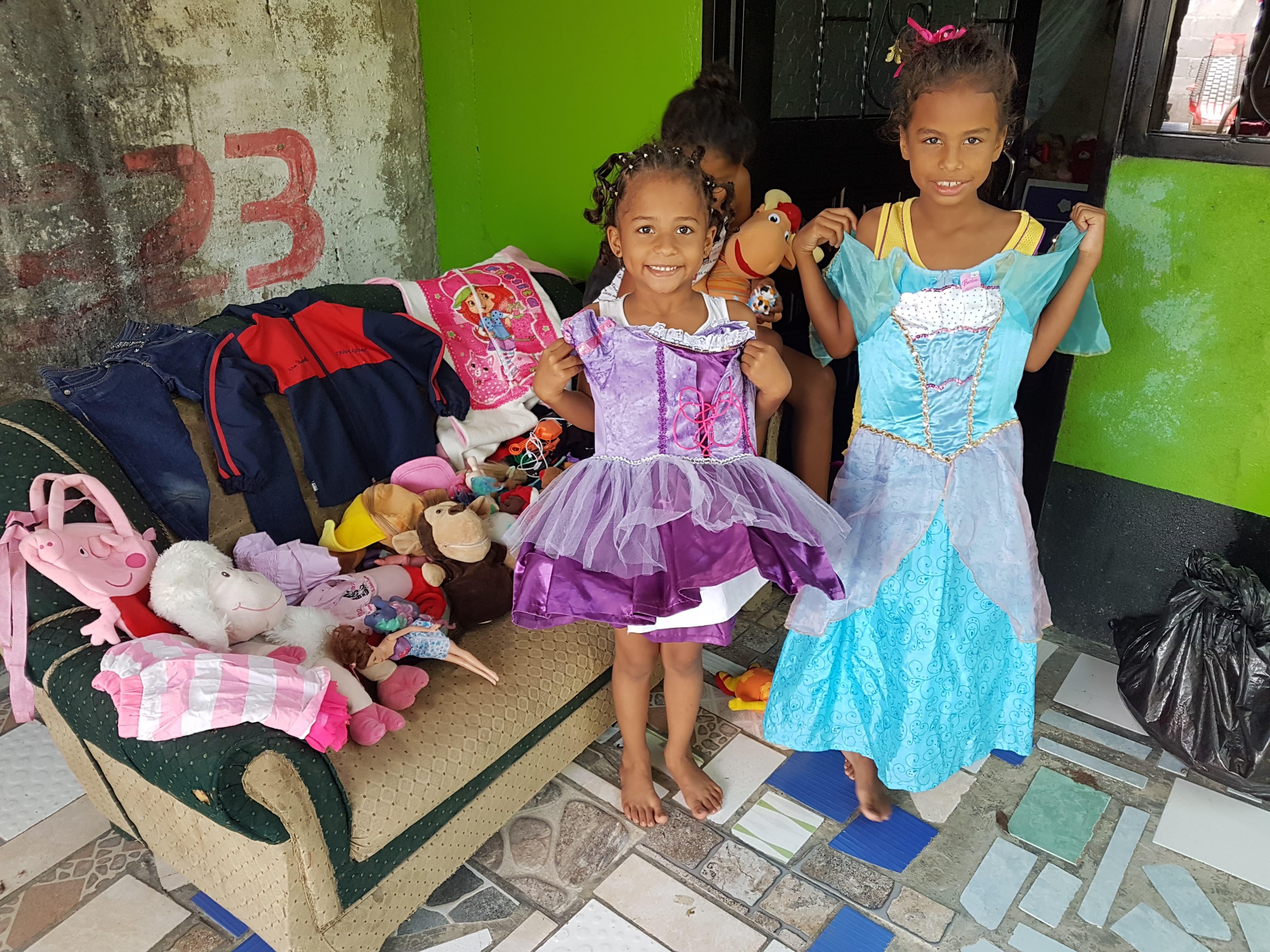 Campaña de donación de juguetes para los niños de Alvarado.