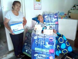 Gestiones de la Fundación FAMBARU en Alvarado Tolima.